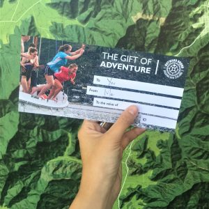 Outward Bound gift voucher