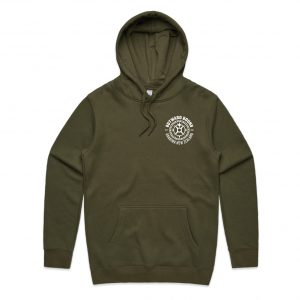 Hoodie web square_Army Front